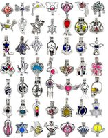 600 Designs zur Auswahl - Medaillonkäfige Love Wish Pearl / Gem Perlen oyster Pearl Mountings - Pearl Cage - OHNE Akoya Oyster
