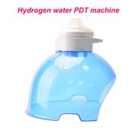 3 색 PDT는 얼굴 피부 회춘 새로 고침 물 공급 산소 수소와 빛 마스크를 LED