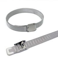 Design simples 10mm de largura pulseiras de aço inoxidável para mulheres e homens prata titânio aço pulseira encantador casal bracelete