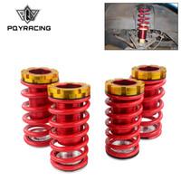 PQY - Kit di colover in alluminio forgiati per Honda Civic 88-00 Rosso Disponibile Sospensione di colover / Molle Coilover PQY-TH11