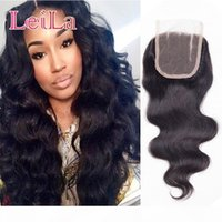 100% Peruvian Hair Top 4 x 4 Lace Closure 8- 22inch Body Wave...