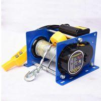500-1000KG 100M 220 / 380V Petit treuil à câble Mini petit treuil électrique pour la décoration des bâtiments domestiques