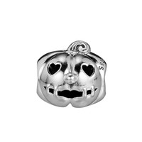 Charms de calabaza 925 Fits de plata de ley 925 para pulsera de estilo original 797596 H8