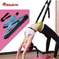 Yoga word horse split assisted stretching belt Press stretch...