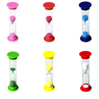 2 Minute Sandglass Colorful Small Hourglass 120 Second Timer...
