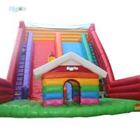Jogos de esportes secos infláveis coloridos da corrediça de esportes da corrediça da corrediça
