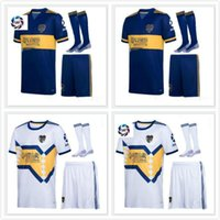 2020 Boca Juniors maillot de football CARLITOS Kit TEVEZ MARADONA football chemises DE ROSSI SALVIO ABILA football uniforme Boca Juniors 20 enfants 21