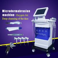 Microdermabrasion sous vide Peeling Machine Blackhead Enlèvement Peau Peau Diamant Dermabrasion Facial peau nettoyer 5in1 machines de microdermabrasion