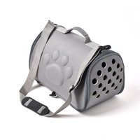 M (42 * 26 * 26 см) EVA Собака кошка складной домашнее животное мешок с разборной корзиной