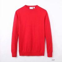 Lacoste Men 풀오버 패션 긴 소매 악어 자수 커플 스웨터 가을 느슨한 5COLORS 뜨거운 판매 M3H1K1 남성 디자이너 스웨터