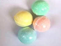 10g bolha Bombas do banho presente Rose Cornflower Lavender Oregon Essencial Lush Oil fizzies perfumadas sais do Mar Balls Handmade SPA presente Atacado