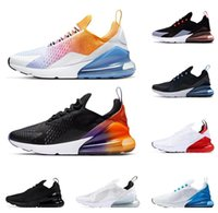 men women running shoes Rainbow Black Gradient BARELY ROSE U...