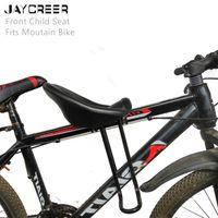 Selles de vélo Jaycreer Universal Mountain Bébé Siège enfant / portable Porte-vélos pour enfants pliable convient à la montagne