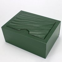Drop Shipping Green Brand Watch Original Box Papers Card Purse Gift Boxes Handbag 185mm*134mm*84mm For 116610 116660 116710 Watches