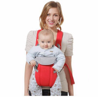 Portador de bebé multifuncional 3-18 meses Bebe infantil Tela transpirable Bebé Mochila Bolsa Wrap Wrap Kangaroo Frente Frente