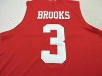 Özel Erkekler Gençlik kadınlar Hou Cougars DeJon Jarreau # 13 Corey Davis Jr 5. Armoni Brooks 3. Jersey Boyut S-4XL veya özel herhangi bir ad veya numara forması
