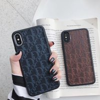 Luxury Phone Case Embossing for Iphone X XS XR Xs Max 6 7 8 ...