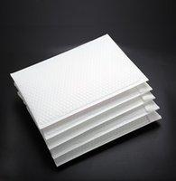 100pcs / lot Branco Bolha Envelope Filme Bag pérola Film Envelope espessamento à prova de choque saco roupas Livro Embalagem correio