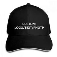 Cappelli hip-hop su misura del berretto da baseball su ordinazione LOGO / TESTO / FOTO / NOME per le donne degli uomini adulti