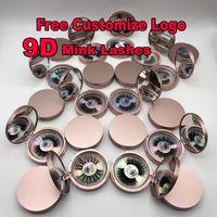 100% Maquillage 3D Vison Cross Faux cils Cils extension de cils naturels faits à la main 21 styles pour choisir ont également cil magnétique