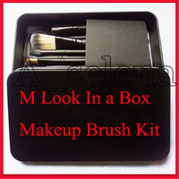 M 메이크업 도구 (12) PC는 브러쉬 세트 키트 여행 미용 전문 재단 아이 섀도우 화장품 브러쉬를 확인