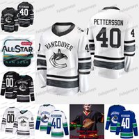 2019 All Star Vancouver Canucks Elias Pettersson Josh Leivo Jay Beagle Antoine Roussel Anders Nilsson Brock Boeser Bo Horvat Jersey