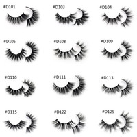 3D Mink Lashes Handmade Full Strip Lashes Cruelty Free Luxur...