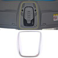 아우디 A4 A5 S4 S5의 B9 2017-2020에 대한 자동차 액세서리 스테인레스 독서 빛 램프 트림 스티커 커버 프레임 인테리어 장식
