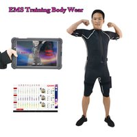 Drahtlose EMS Fitness Trainingsanzug XEMS App Pad oder Phone Control Android-System für Muskelstimulator Ausrüstung Xems Trainingsmaschine