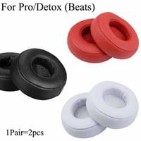 Für Pro Detox Headphone Ohrpad Kissenbezug Ersatzprotein Leder Ohrpolster Ohrenschützer Ohr Muff Monster auf Ohr Headset
