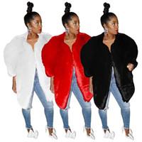 capa de invierno para mujer abrigo chaqueta de moda chaqueta ropa de abrigo sólida otoño invierno mantener cálido tops para mujer klw2391