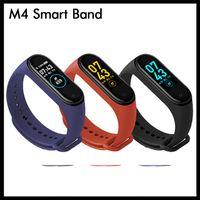 Браслет M4 Smart Band Fitness Tracker Спорт Браслет Пассиометр Сердечное Сердечное Давление Водонепроницаемый Монитор Сердечный Уровень МИ 4