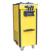 Neue Art kommerzieller benutzter Joghurt gefrorener Maschinenitaliener 3 Aromen Softeismaschine für Verkäufe