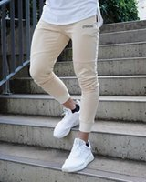 Fashion Mens Joggers Pants Skinny Casual Trousers Pants Top ...