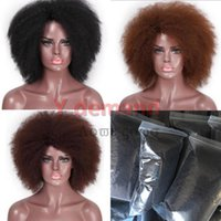 Y- D Hot brazilian Hair African Cosplay short kinky Curly Wig...