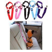 كلب مقعد سيارة حزام نايلون كلاب القط سلامة حزام الأمان حزام مسند رأس سيارة ضبط النفس السلامة يؤدي حزام الأمان تسخير السيارة