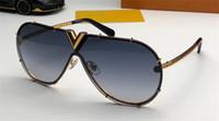 nuova stilista piloti di occhiali stile 0897 senza cornice riflettente rivestimento handmade squisito protezione anti-UV ourdoor UV400 occhiali da sole