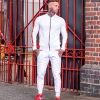 Tracksuits Fashion Casual Letter Print Solid Color Sports St...