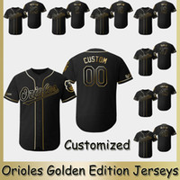 aab22cd04 New Arrival. 2019 Orioles Golden Edition Jerseys 2 Jonathan Villar 35  Dwight Smith Jr. 16 Trey Mancini 19 Chris Davis Rio Ruiz Baltimore Baseball  Jersey