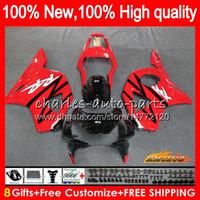 OEM-lichaam voor HONDA CBR 954 900 RR CC 900CC CBR900 Fabrieksrood CBR954 RR 77HC.160 CBR 900RR 954RR CBR900RR CBR954RR 02 03 2002 2003 Valerijen