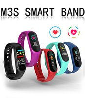 M3S Fitness Armband Blutdruck Pulsmesser Smart Band Fitness Tracker Schrittzähler Armband Smart Armband Smartwatch.