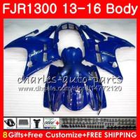 Body ALL Blue glossy For YAMAHA FJR 1300 FJR1300A FJR1300 13 14 15 16 121HM.32 FJR1300 A FJR-1300A FJR-1300 2013 2014 2015 2016 Fairing kit