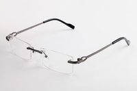 Mode randlos Büffelhornbrille Sonnenbrille 2020 Sommer Artmänner Art und Weise Sport-Sonnenbrille für Männer Frauen klare Linse mit ursprünglichem Kasten