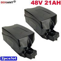 2pcs / lot für Samsung 18650 E-Fahrradbatterie 48V 20ah elektrische Fahrrad-Lithium-Batterie für Bafang BBSHD 1000W Motor Freies Verschiffen