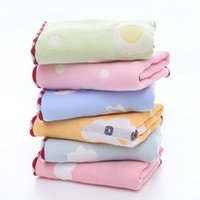 algodão orgânico do bebê Toalhas Scarf banho de toalha recém-nascidos Lenço de banho Alimentação Rosto Washcloth Limpe