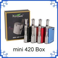 Original Kangvape Mini 420 Caixa Kit 400 mAh VV Mini Bateria TH-420 Mod 0.5 ml 510 Cartuchos De Óleo Grosso Vape Tanque 2287006