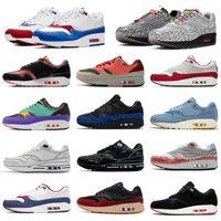 2020 أحذية جديدة 87 الذكرى 1 بييت بارا حذاء رياضة قسط 1S القمر DELUXE البطيخ تتفاعل أحذية العنصر المصلح رسم لالجرف