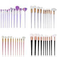 Makeup Pinsel Set Spiralgriff Foundation Pulver Blush Lidschatten Concealer Lip Eye Make Up Pinsel Cosmetics Beauty Tool