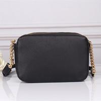 Envío gratis 2020 Nuevas bolsas de moda Damas Messenger Bag Promoción Hombro Casual Cadena Pequeña bolsa cuadrada 23 * 10 * 16