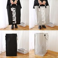 대형 접이식 세탁 가방 축소 옥스포드 세탁 더러운 옷을 세탁 바구니 휴대용 세탁 보관 가방